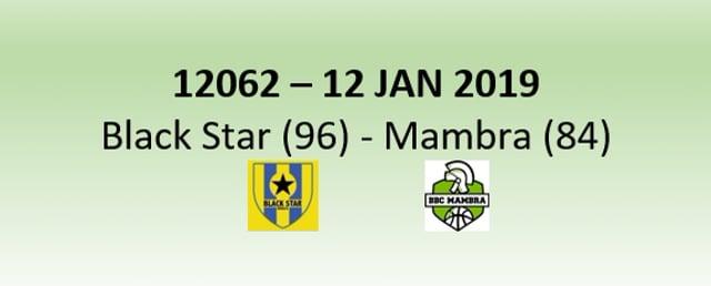 N2H 12062 Blackstar Mersch (96) - Mambra Mamer (84) 12/01/2019