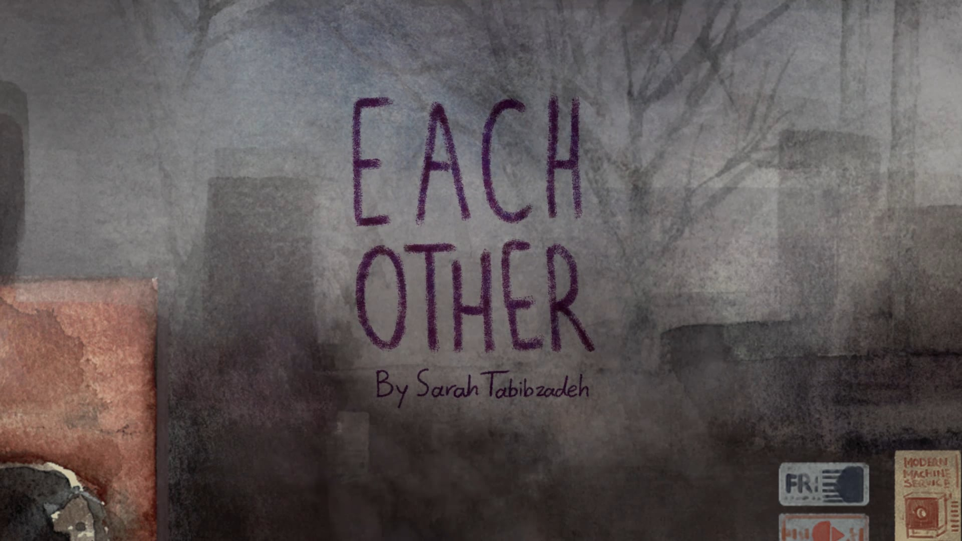 Each Other by Sarah Tabibzadeh  Iran