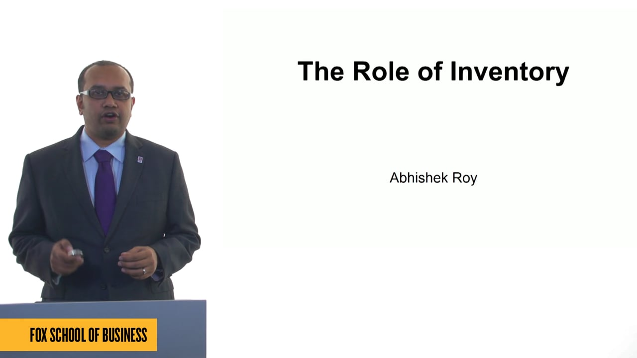 61248The Role of Inventory