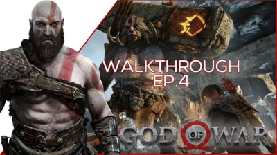 We Fight ANOTHER GIANT MONSTER! - God of War EP. 4
