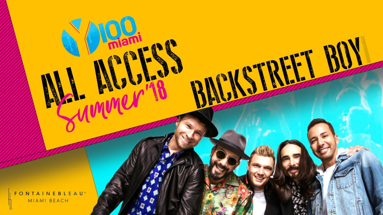Backstreet Boys LED