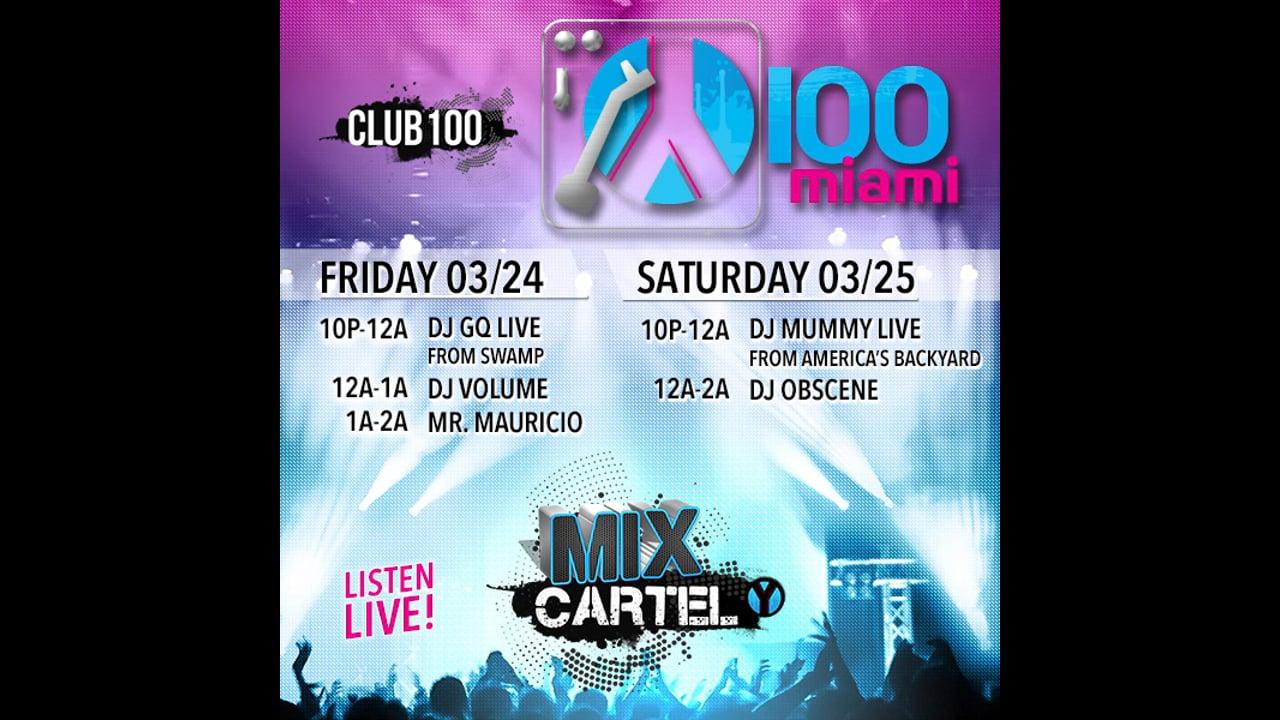 Y100 Club100 - Social Media Loop