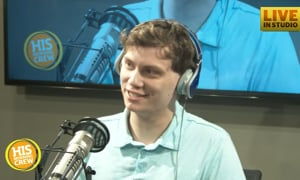 HIS Morning Crew Tests Young Employee on Phone Sounds