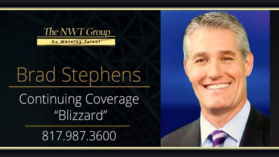"""Continuing Coverage """"Blizzard"""""""