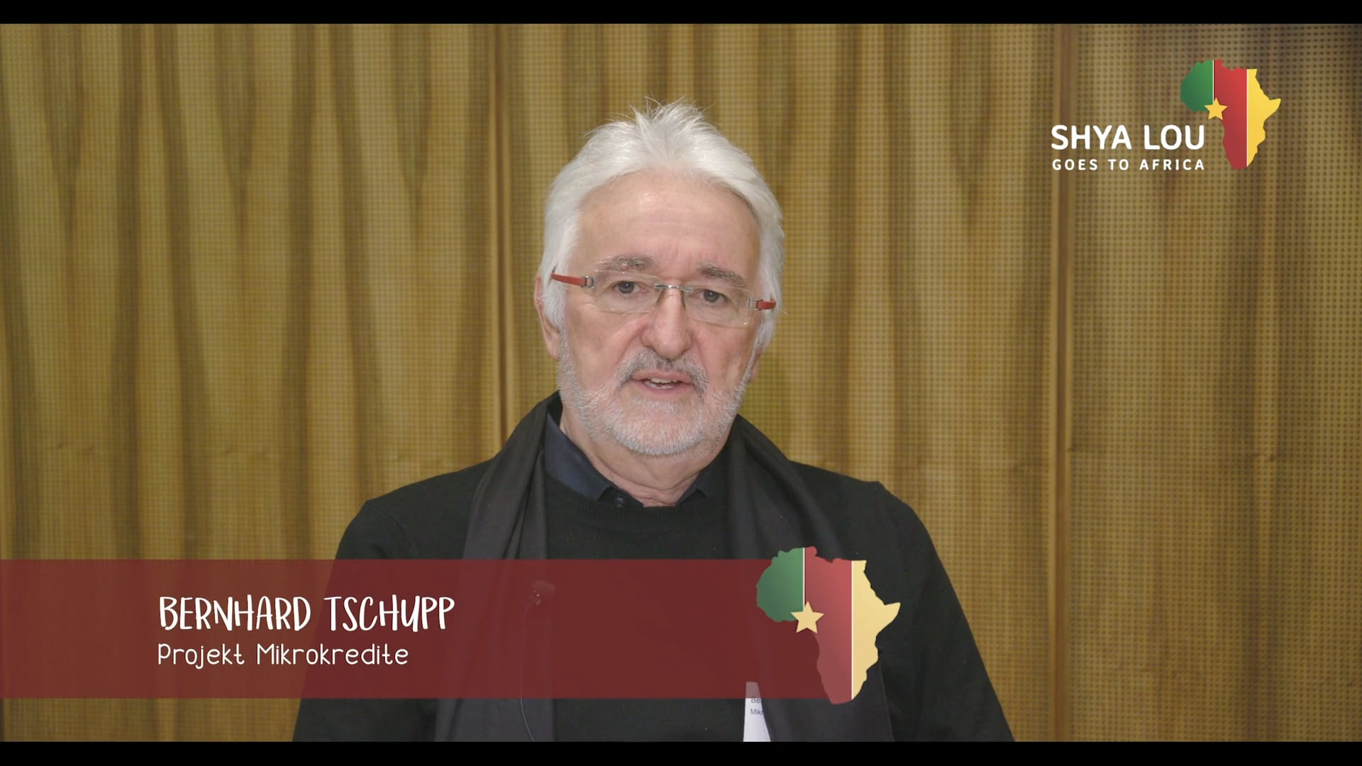 Shya Lou goes to Africa – Testimonial Bernhard Tschupp (fr) – Projet Microcrédite
