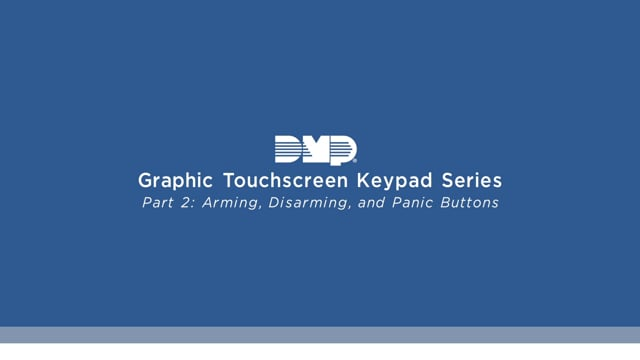 Graphic Touchscreen Keypad Video Series Part 2