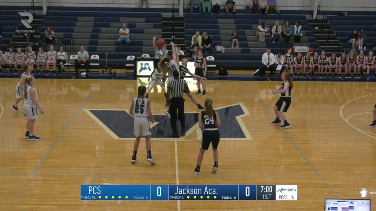 JV Girls Basketball-2019-Jan-08-Presbyterian Christian
