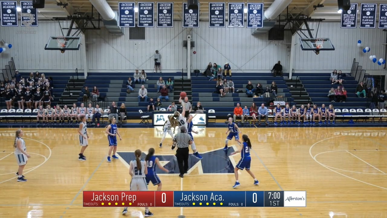 JV Girls Basketball-2019-Jan-11-Jackson Prep