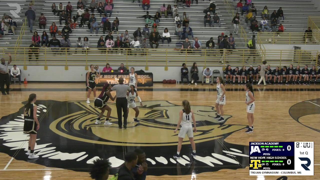 Varsity Girls Basketball-2018-Dec-28-New Hope HS