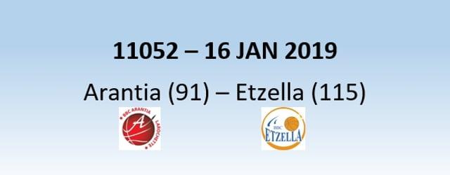 N1H 11052 Arantia Larochette (91) - Etzella Ettelbruck (115) 16/01/2019