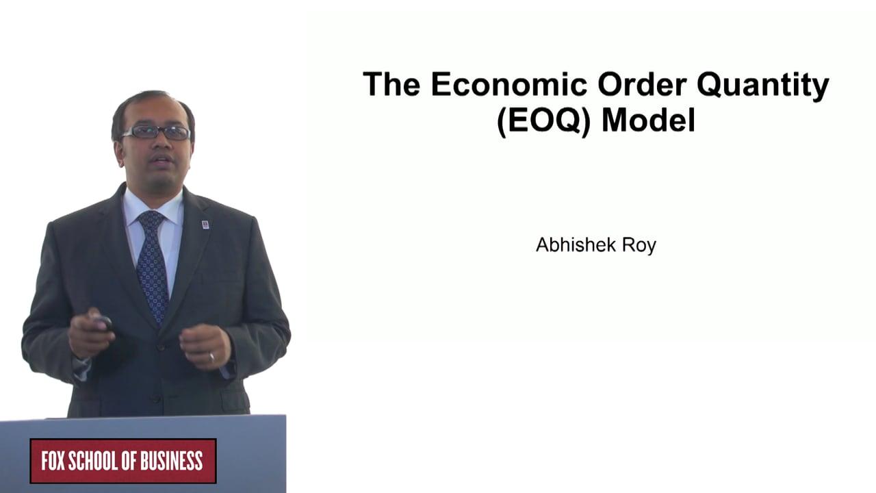 61246The Economic Order Quantity (EOQ) Model