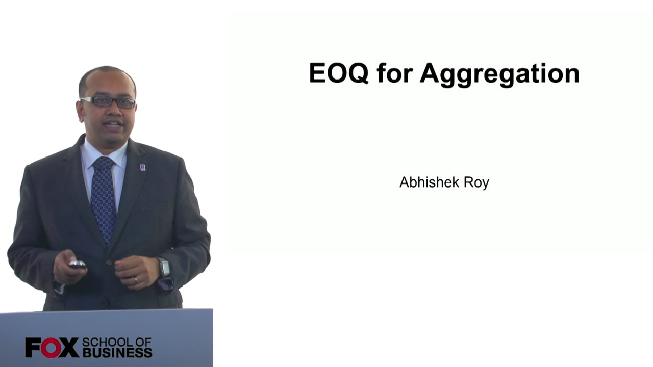 61247EOQ for Aggregation