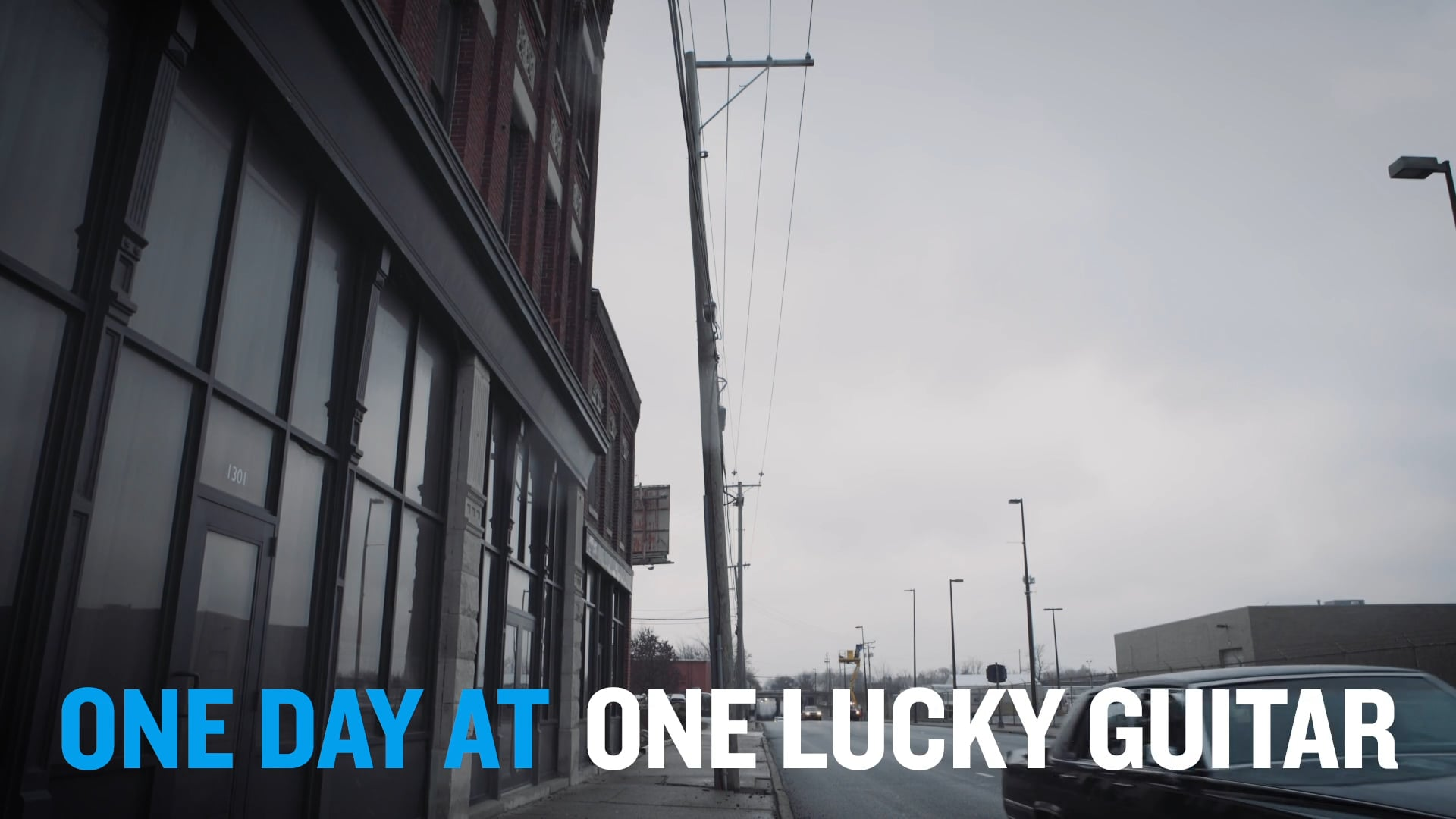 One Day At: One Lucky Guitar