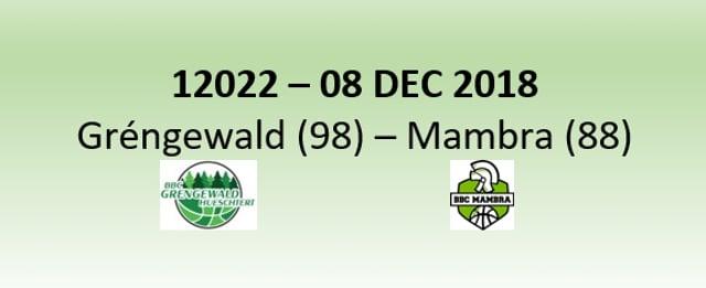 N2H 12022 Grengewald (98) - Mamer (88) 08/12/2018