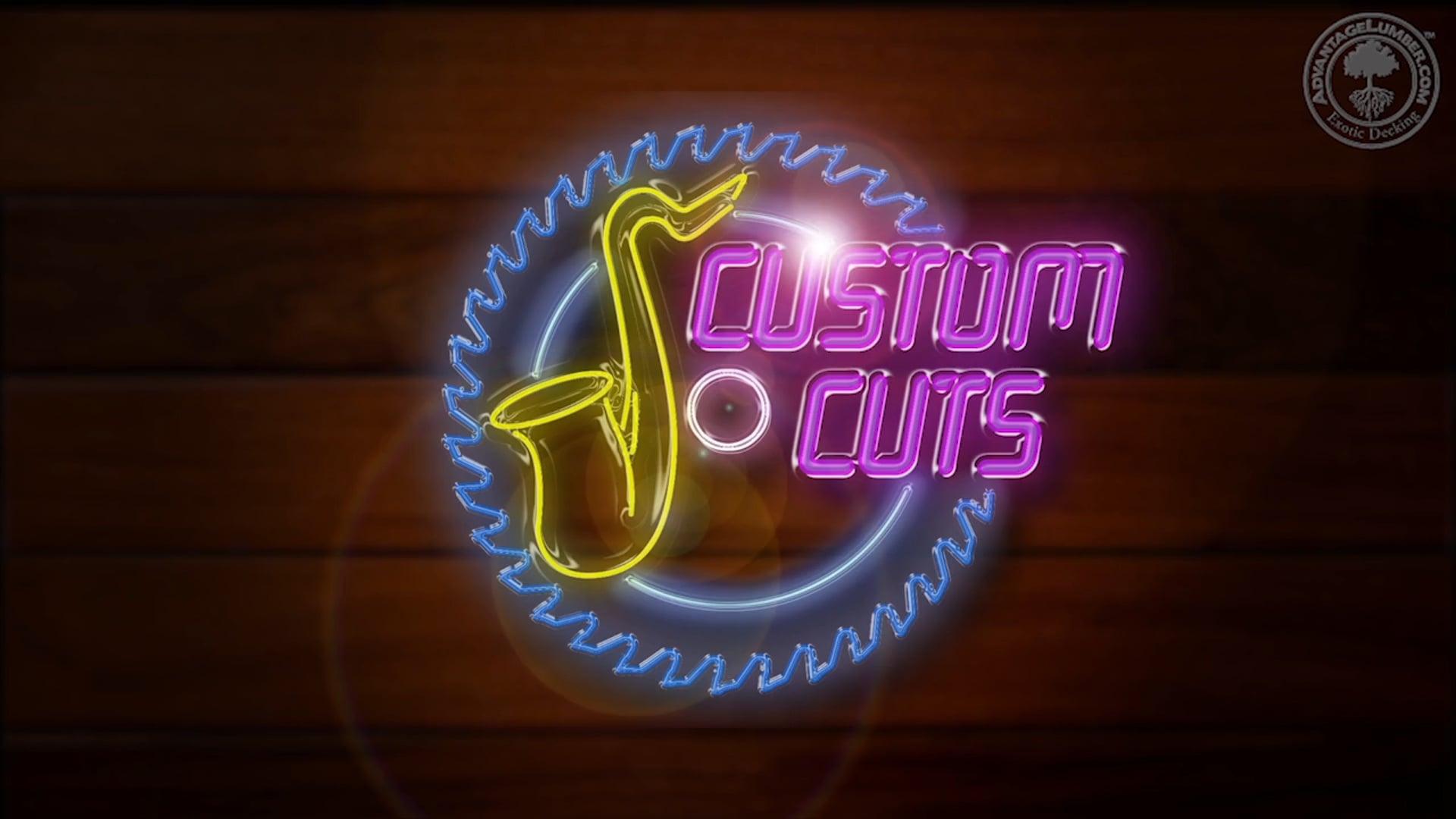 Custom Cuts: Black Walnut