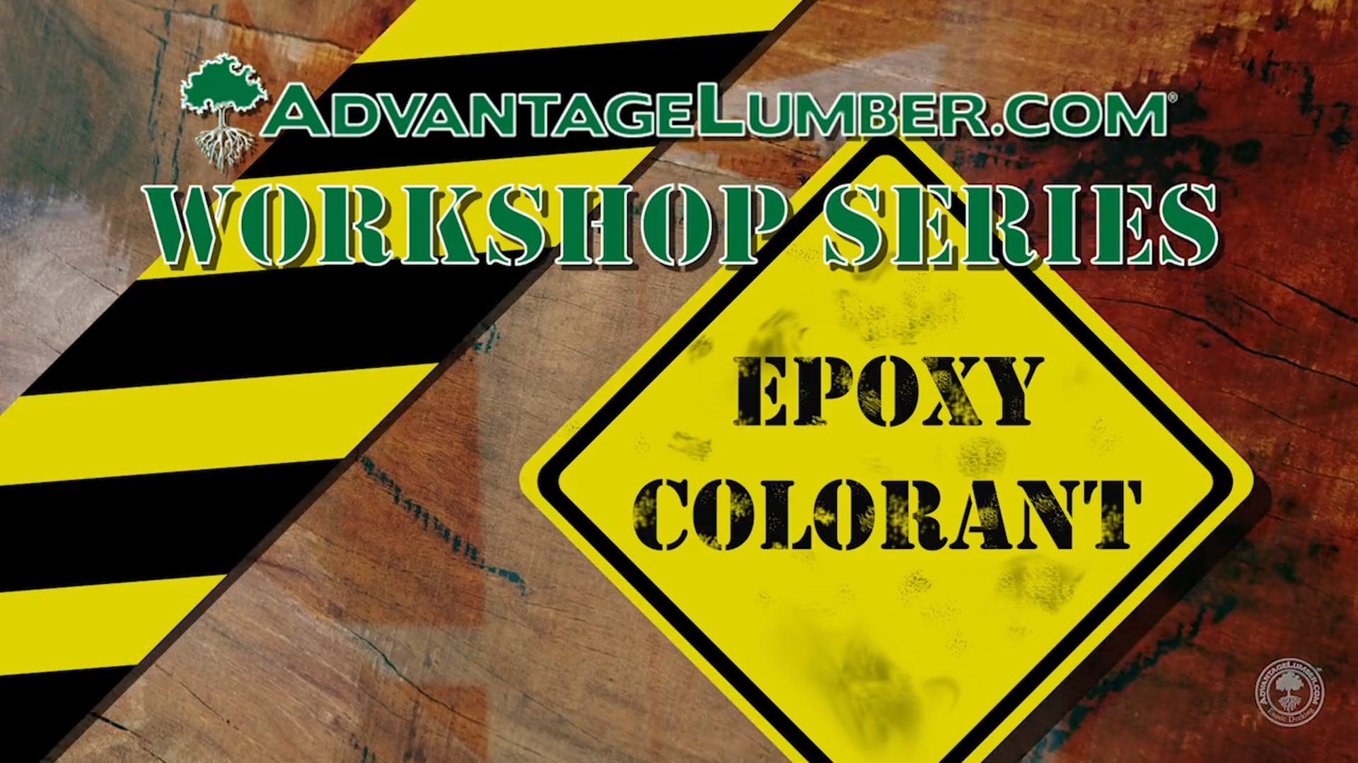 Advantage Workshop Series: Epoxy Colorant