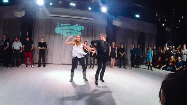 Дмитрий Колмогорлов и Татьяна Степаненко