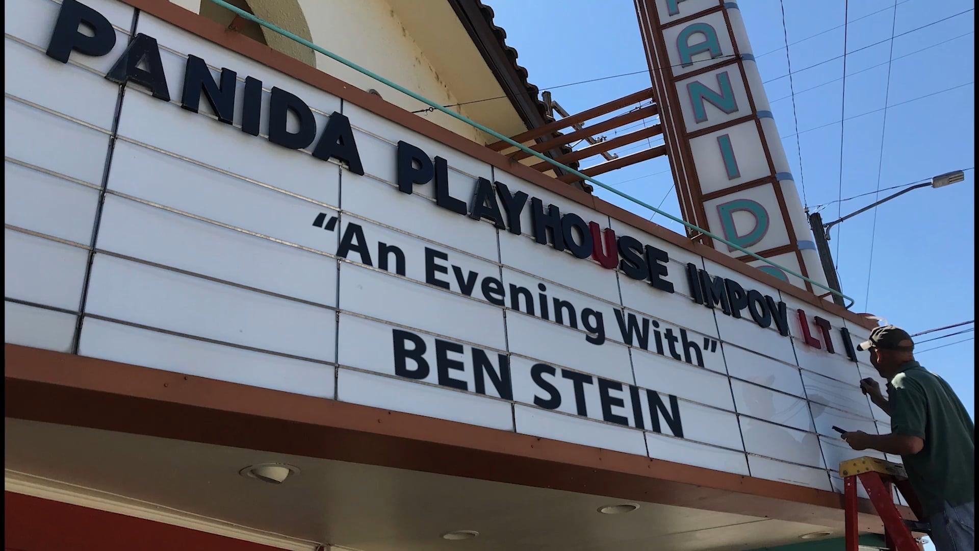 An evening with Ben Stein