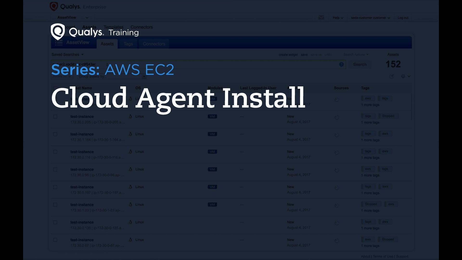Cloud Agent Install