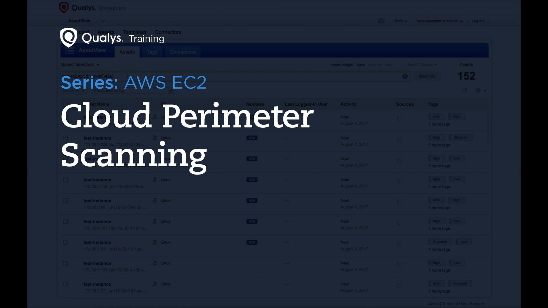 Cloud Perimeter Scanning
