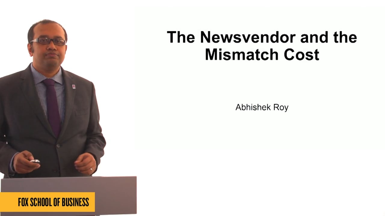61282The Newsvendor and the Mismatch Cost