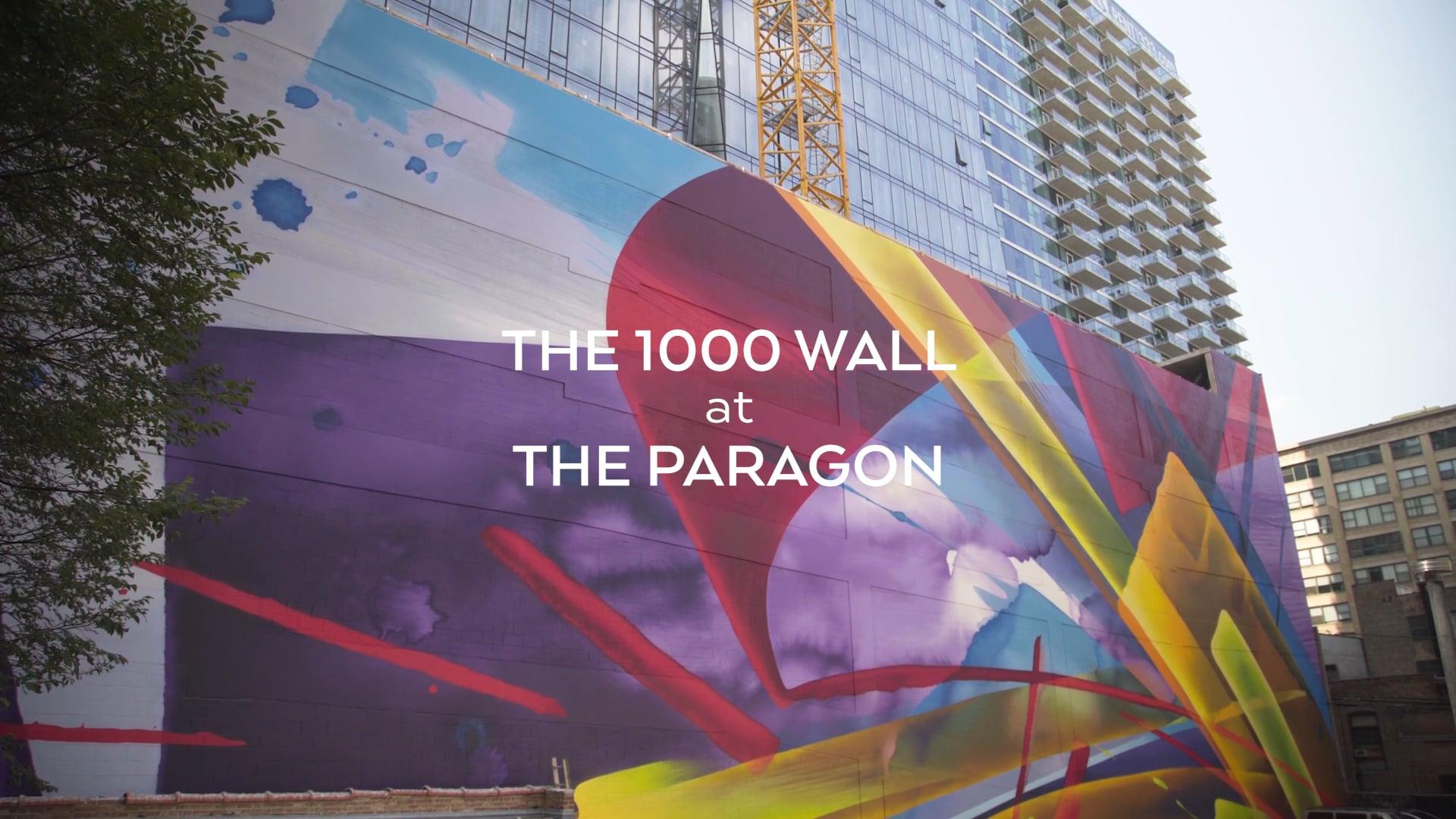 Paragon - MAD C Mural Installation