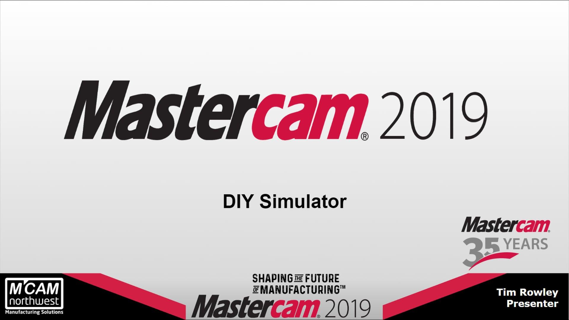 DIY Mastercam Simulator