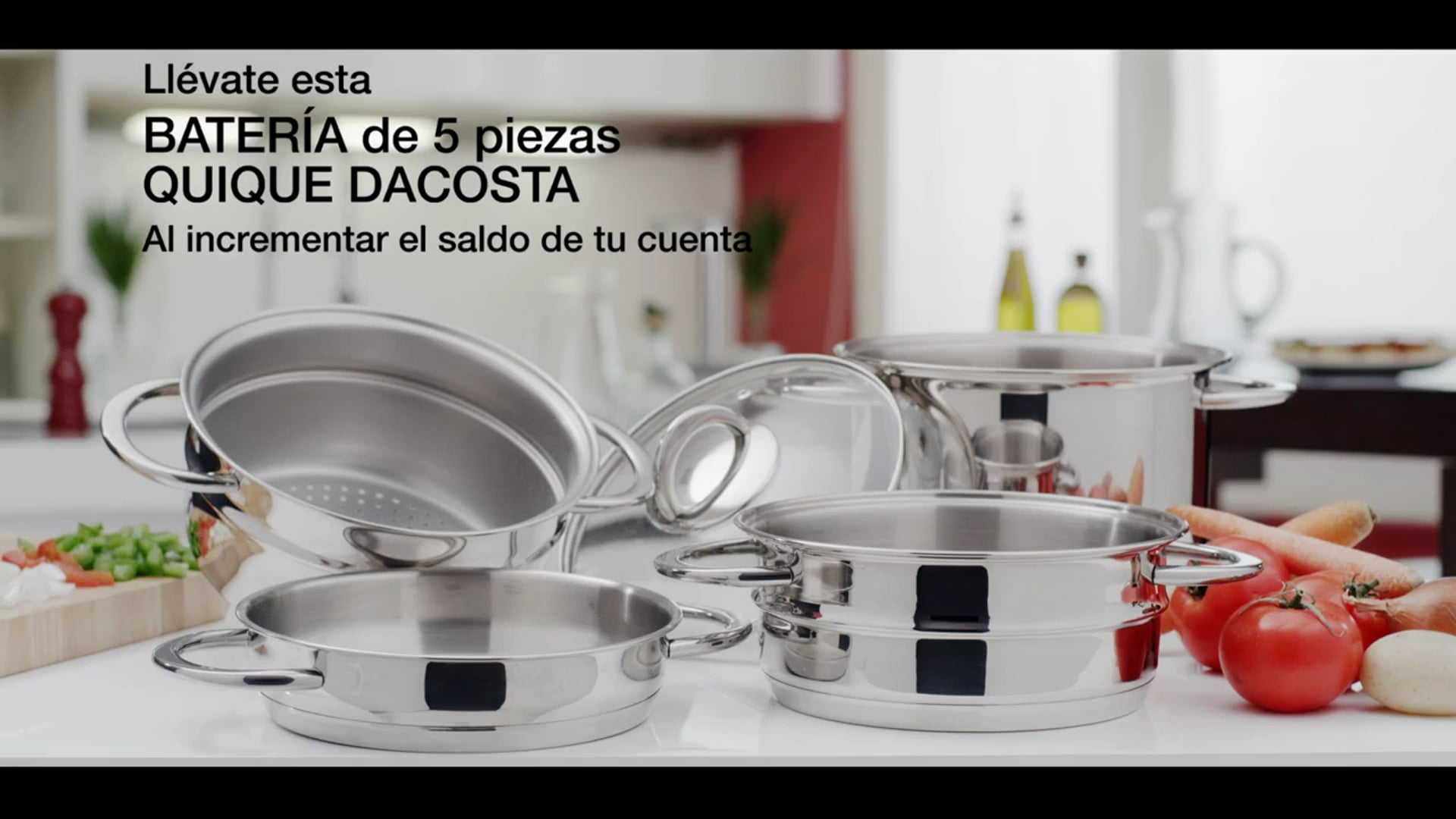 SPOT Grupo BMN Batería de cocina