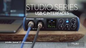 Interfejsy Presonusa kompatybilne z USB-C