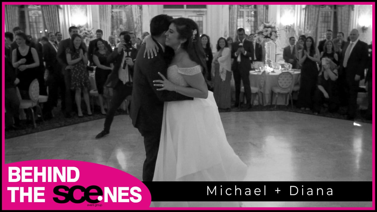 Real SCE Weddings - Diana & Michael at Pleasantdale Chateau BTS - Tony Tee Neto