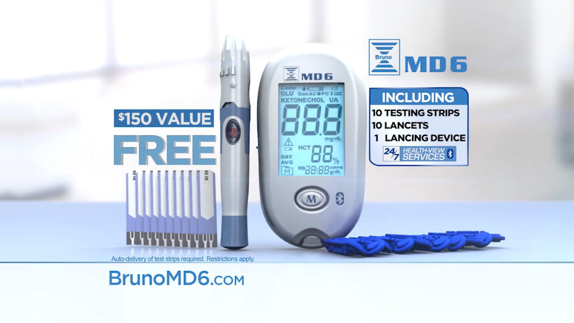 Bruno MD6 Commercial Spot