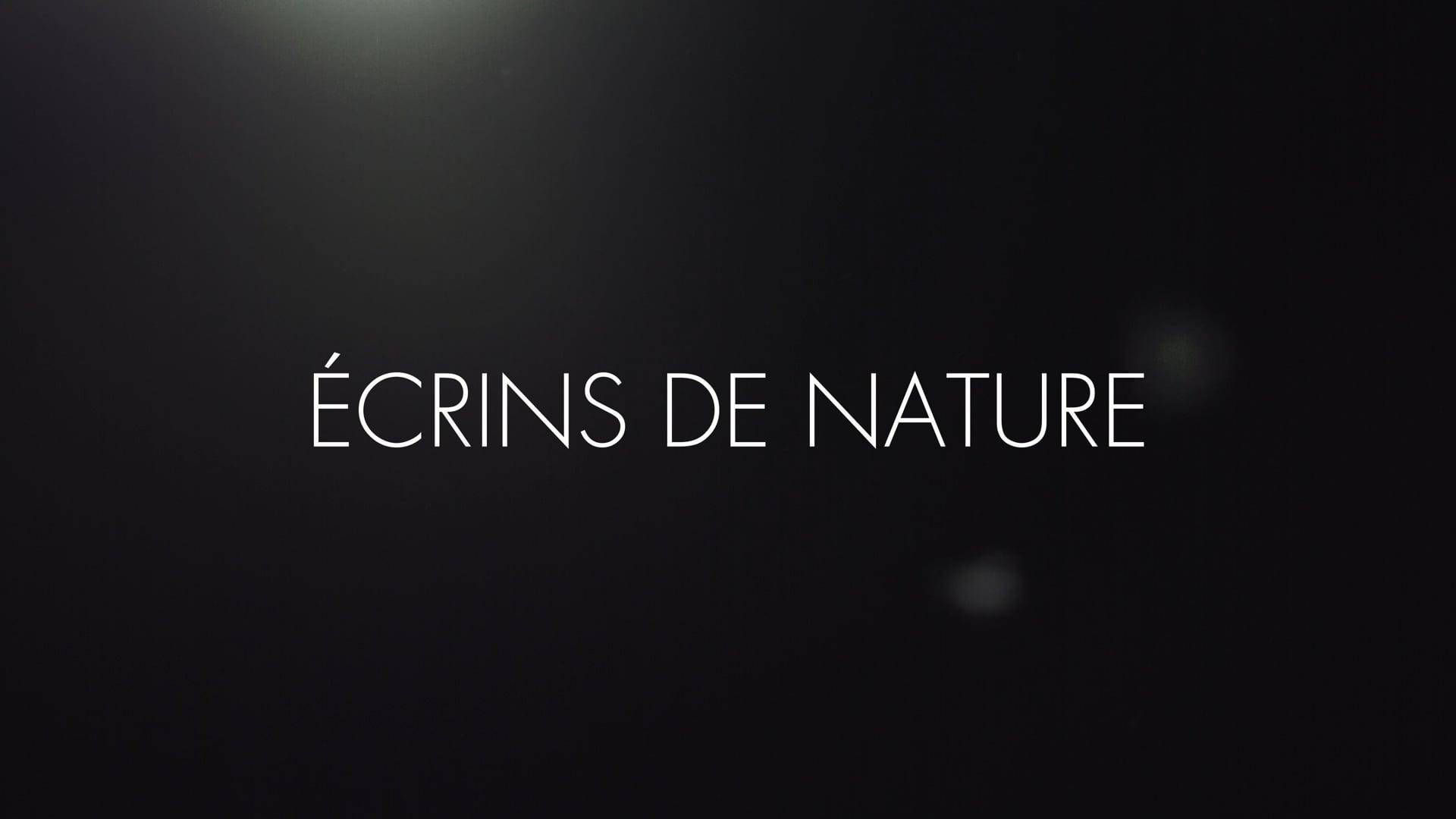 Ecrins de nature