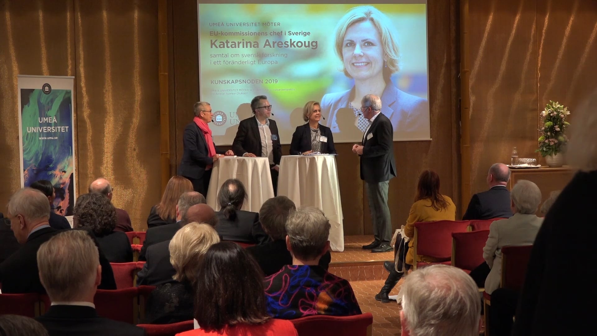 Film: Umeå universitet möter Katarina Areskoug