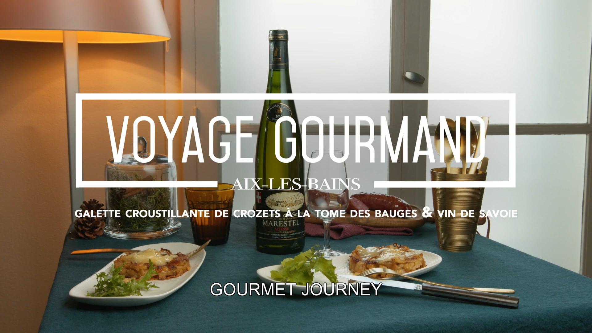 Voyage Gourmand – La tome des Bauges
