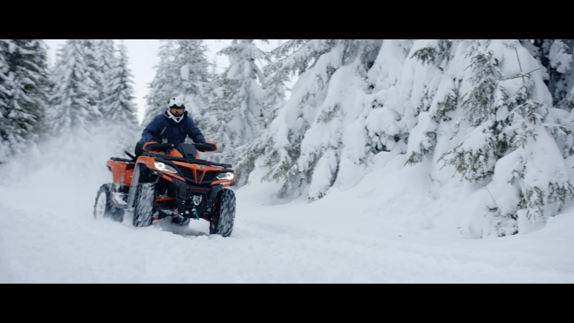 Alexandru don-Winter is All About Fun- CFMOTO