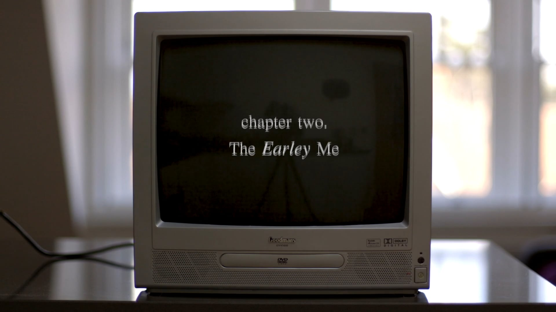 chapter two. The Earley Me