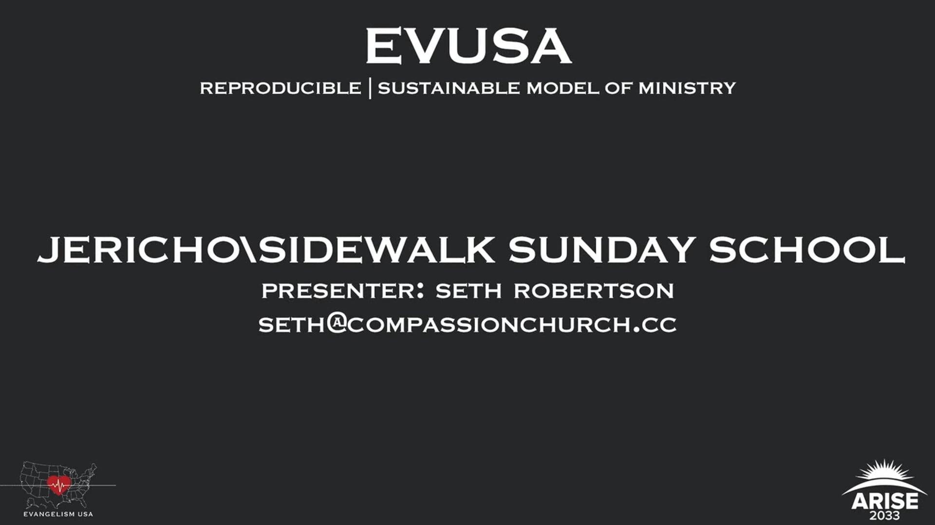 Jericho/Sidewalk Sunday School