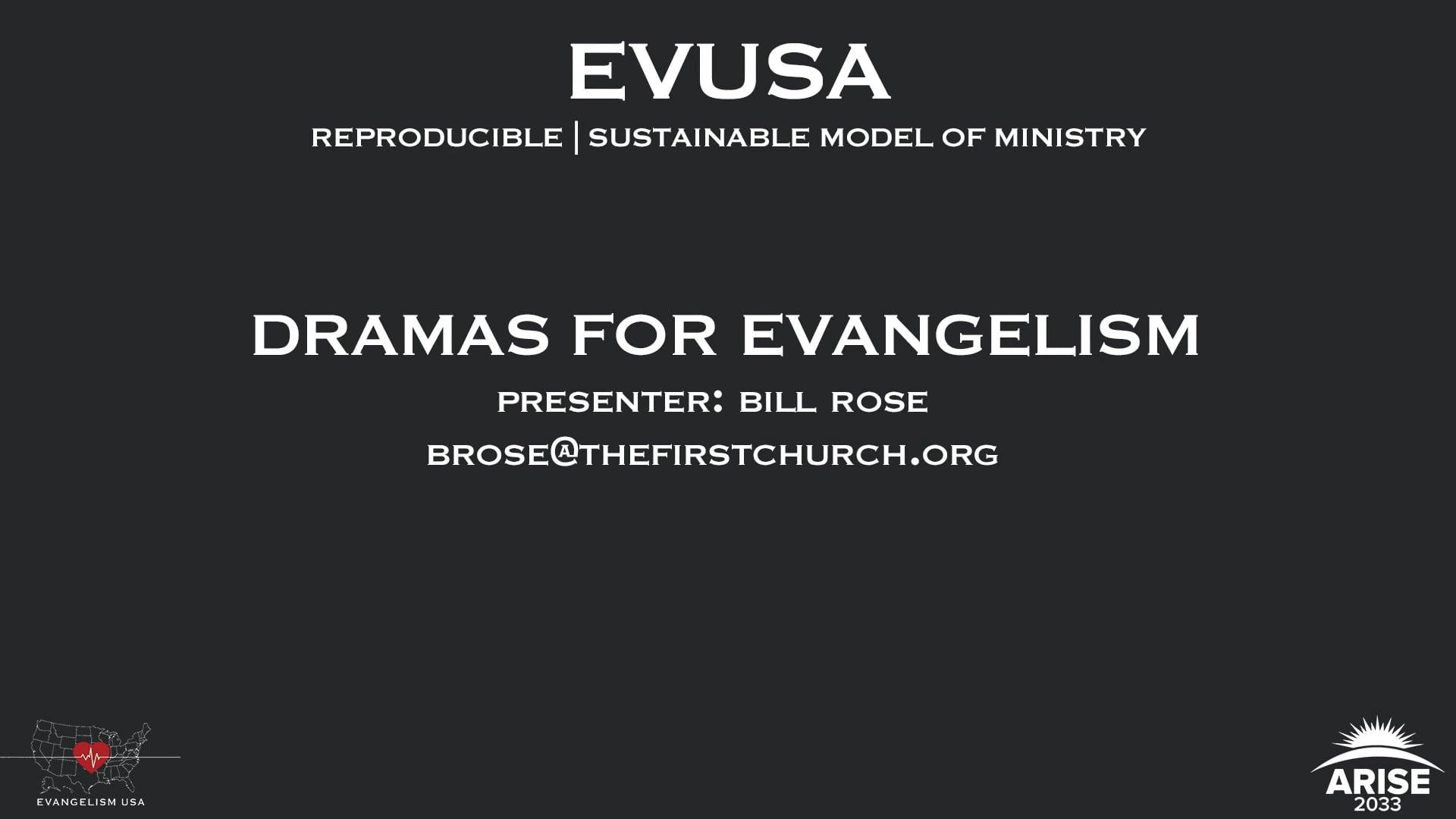 Dramas For Evangelism