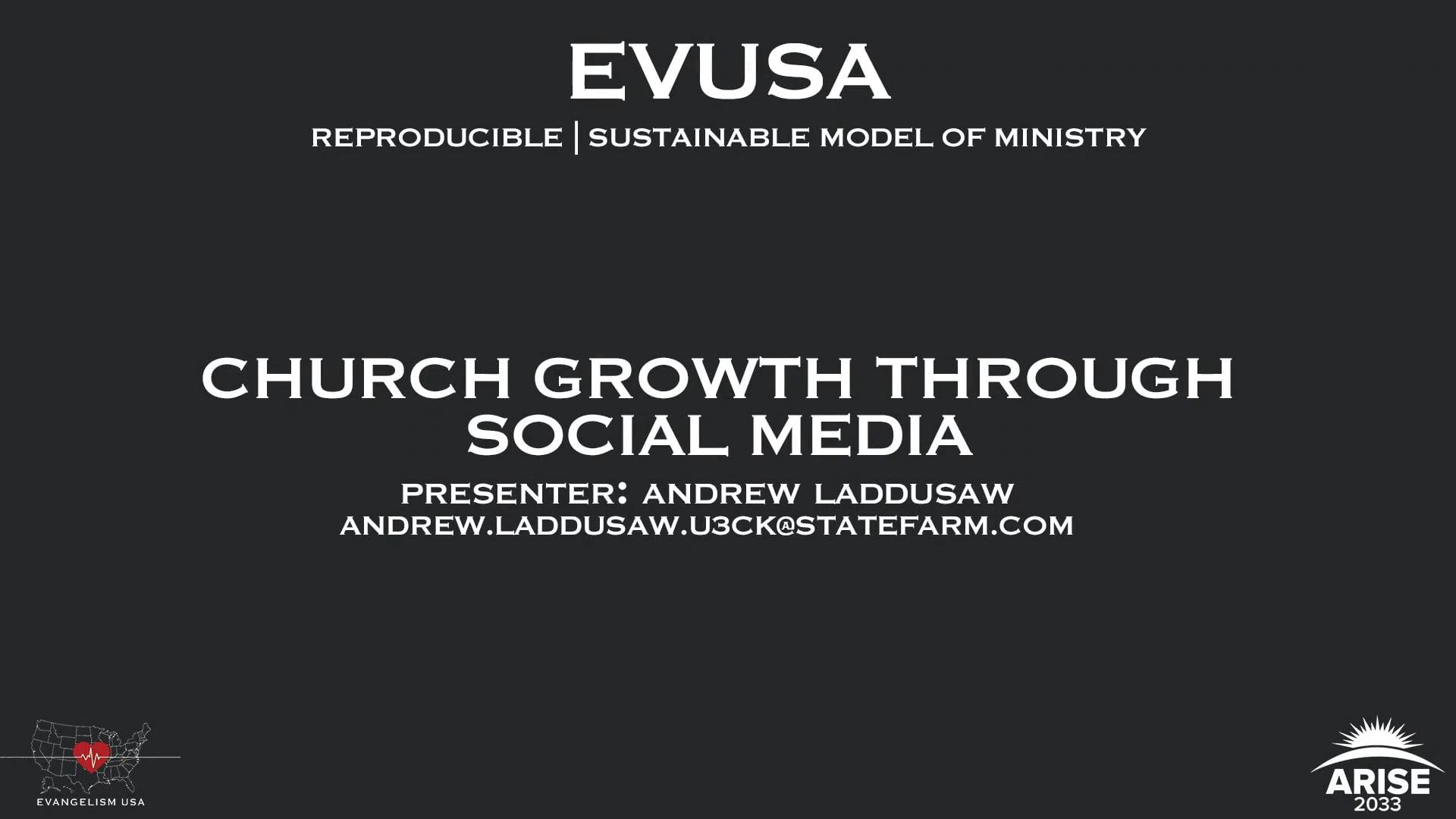 Church Growth Through Social Media