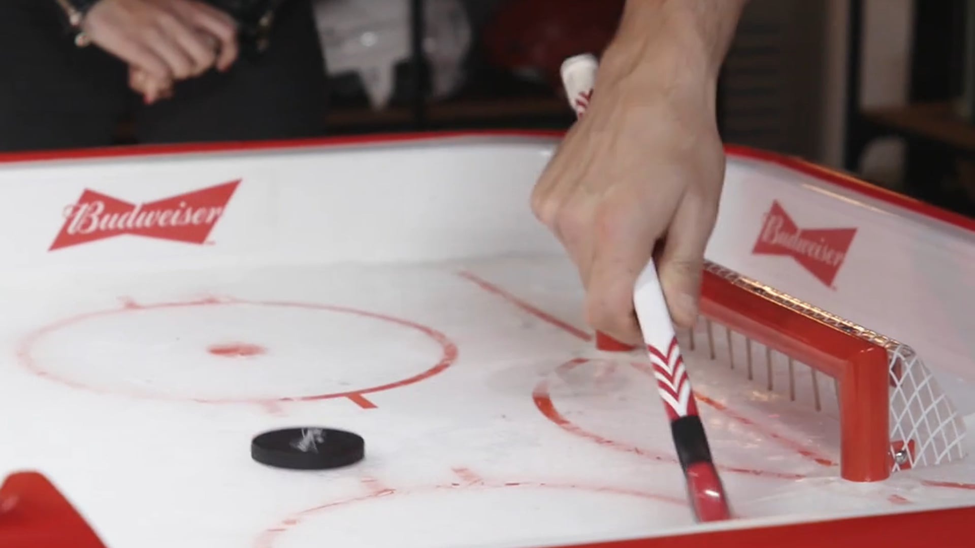 """Budweiser Red Light """"One Timers"""" Episode 1: Dion Phaneuf vs. Drew Dowdy"""
