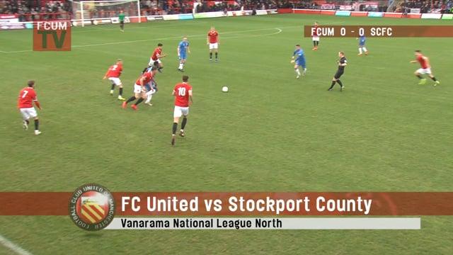 FCUM vs Stockport - 26/01/19 - Highlights
