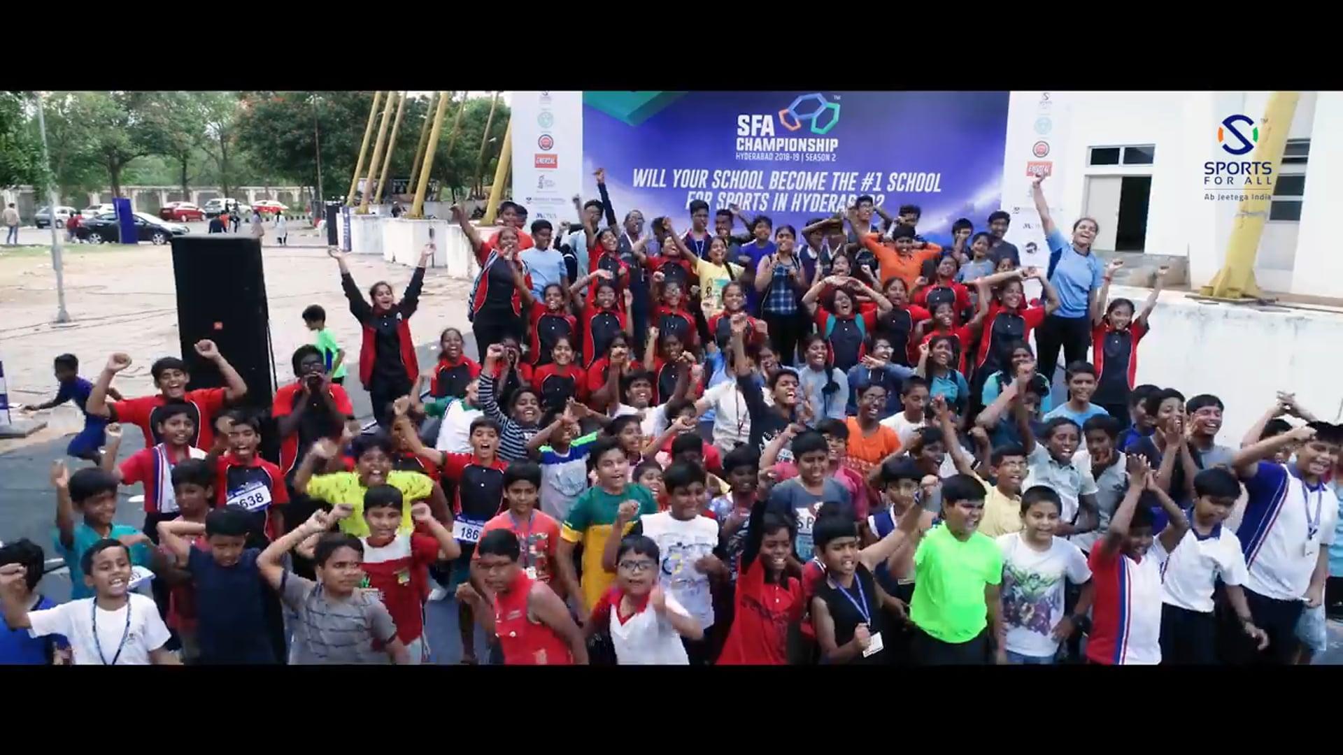 SFA Hyderabad 2018 Highlights