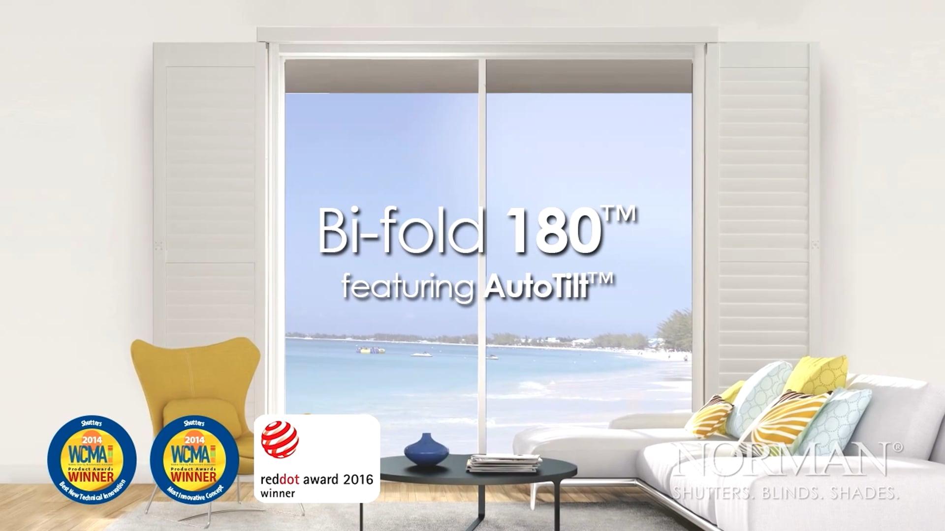 Norman® Bi-fold 180™ featuring AutoTilt™