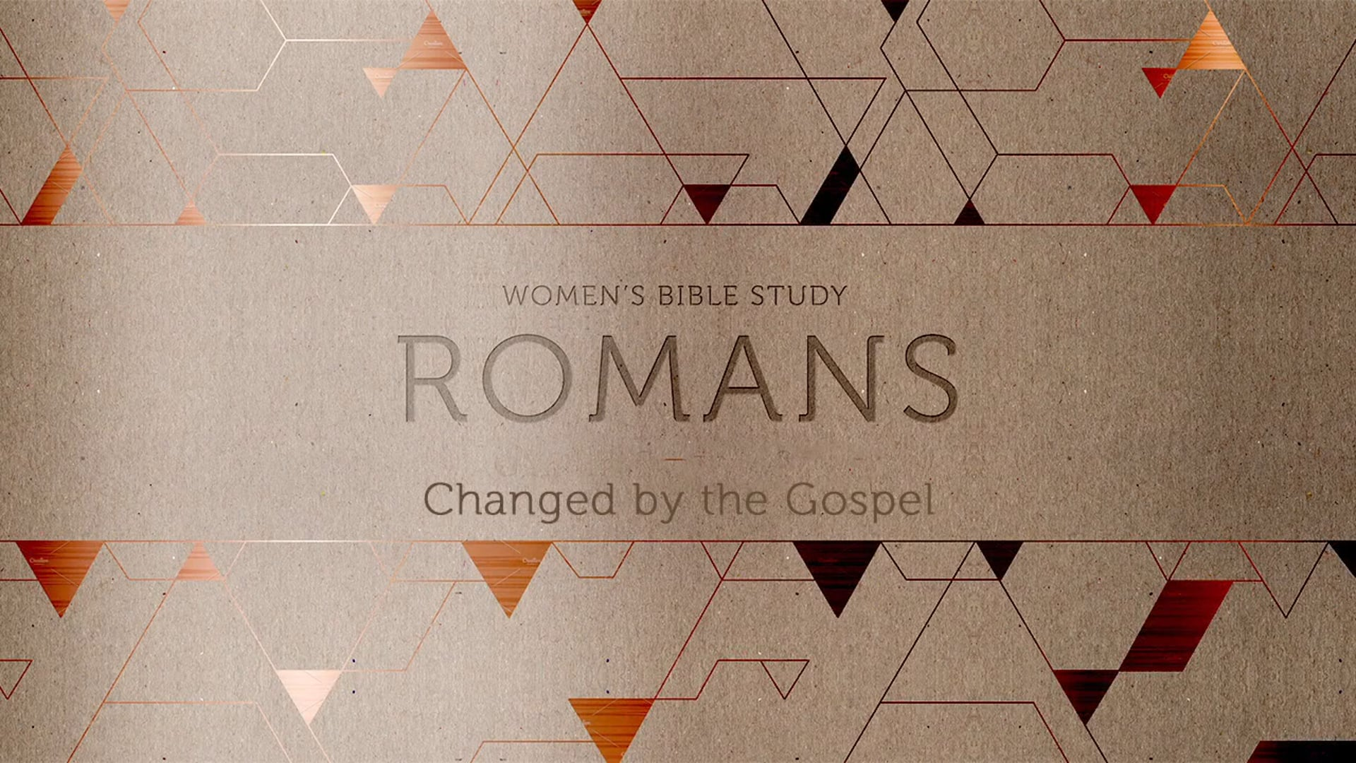 Week 4: Live by the Spirit (Romans 8)