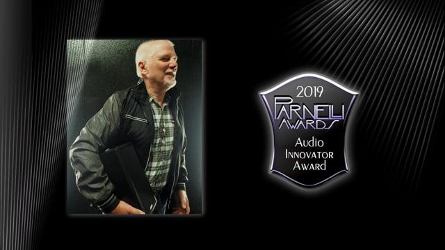 Brock Adamson - The 2019 Parnelli Audio Innovator Award