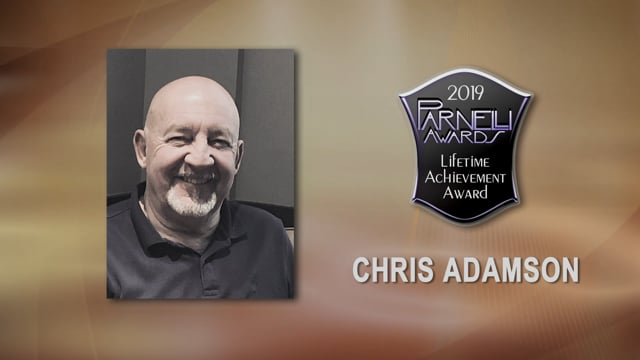 Chris Adamson - The 2019 Parnelli Award Lifetime Achievement Award