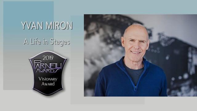 Yvan Miron - The 2019 Parnelli Visionary Award