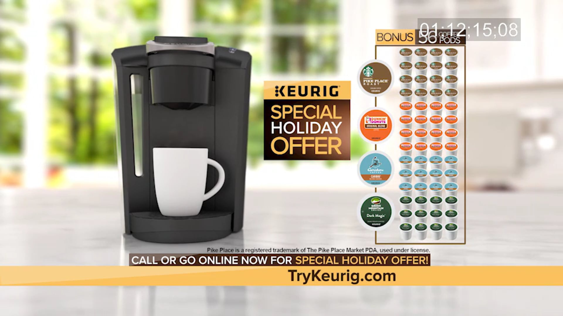 Keurig Coffee Maker Direct Response Show