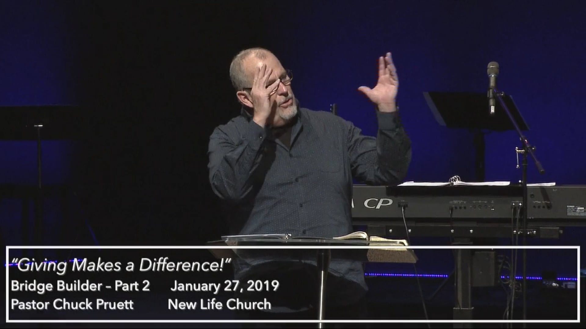 """Jan. 27, 2019 - """"Giving Makes a Difference - Part 2"""""""