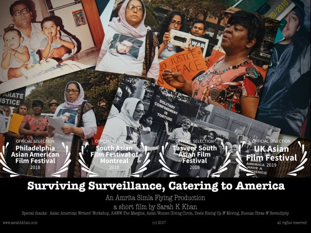 Surviving Surveillance, Catering to America: Shahina Parveen